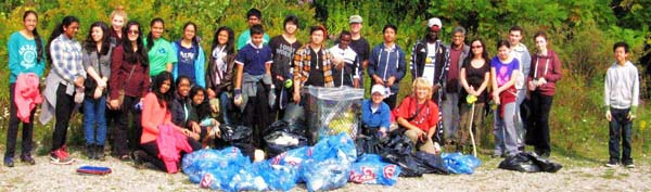 September 2014 Clean-up crew